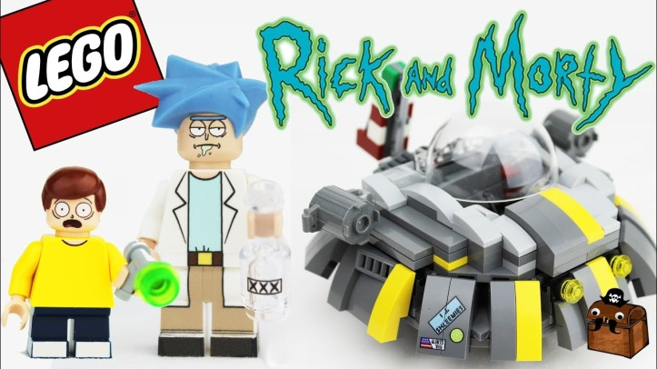 Building A Franchise: Why We Need 'The Lego Rick And Morty Movie'